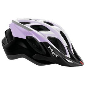 MET Funandgo Bike Helmet purple/black